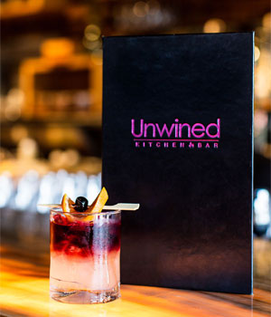 Unwined drink menu